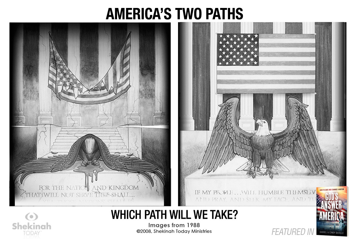 America's Two Eagles – Two Paths