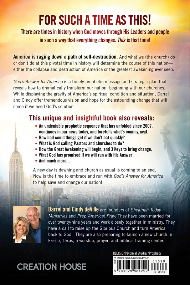About The Book - God's Answer For America